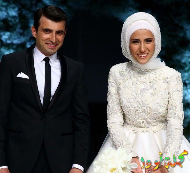 سمية أردوغان يوم زفافها