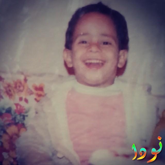 كريم عفيفي وهو صغير