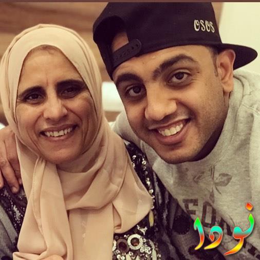 محمد أسامة ووالدته