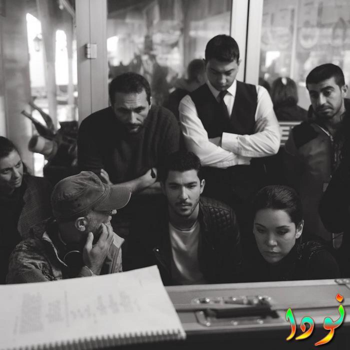 ممثلين مسلسل حلقة لحظة مشاهدة تصوير الحلقات الأولى للمسلسل