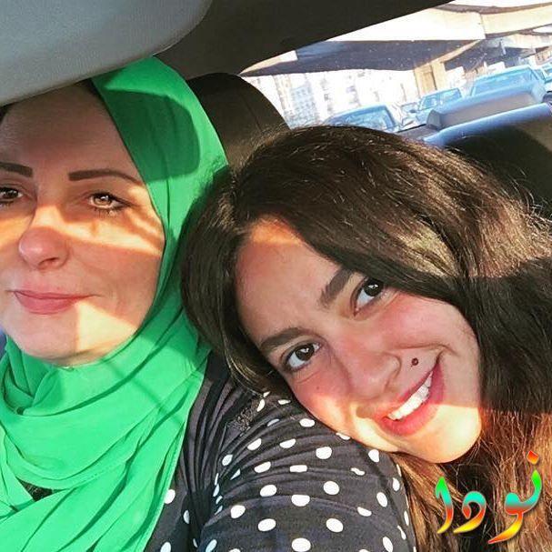 هند عبد الحليم ووالدتها