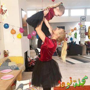 تألق مريم في حفل عيد ميلاد ابنتها