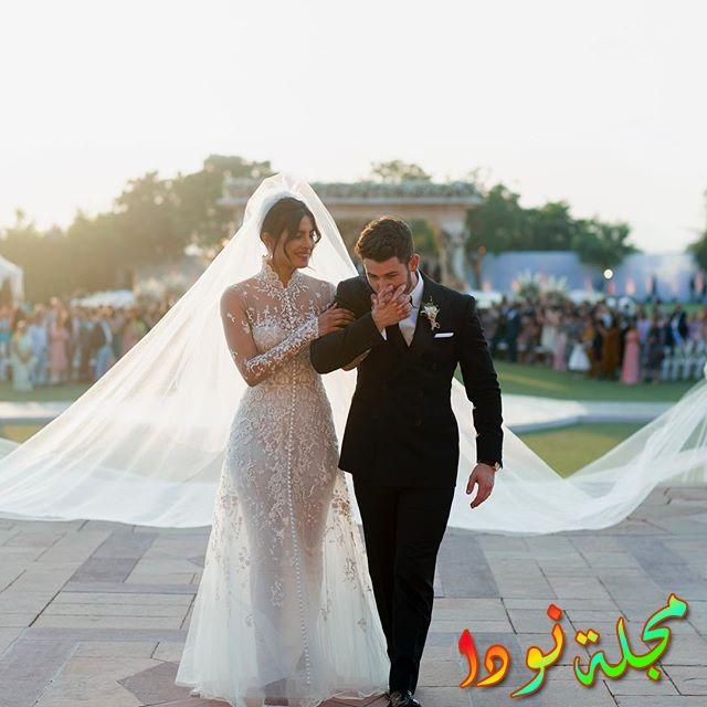 حفل زفاف بريانكا شوبرا ونيك جوناس