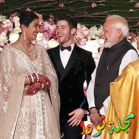 حفل زفاف بريانكا شوبرا