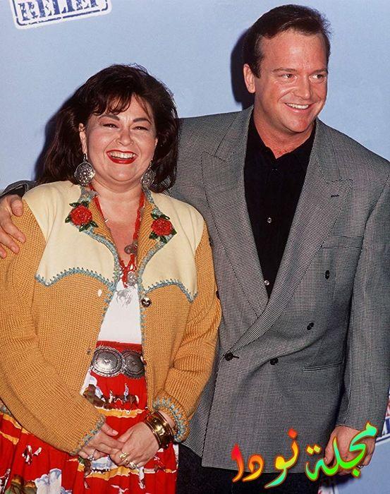 روزان بار وزوجها توم أرنولد