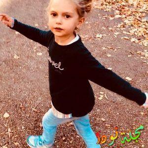 شاهد جمال ابنة مريم أوزرلي الصغيرة