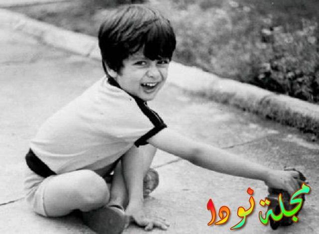شهيد كابور وهو طفل، جزء من طفولته