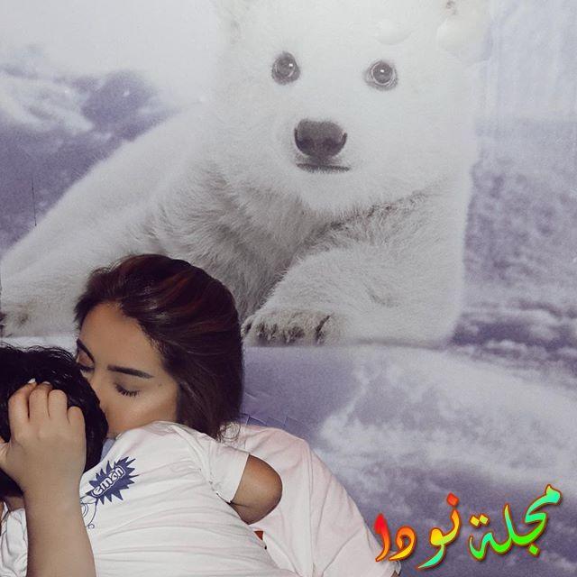 شيماء علي وابنها