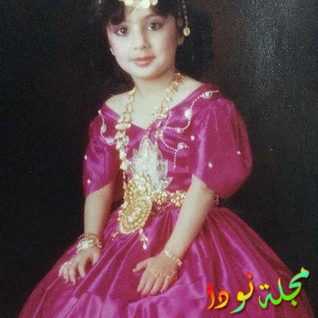 شيماء علي وهي صغيرة