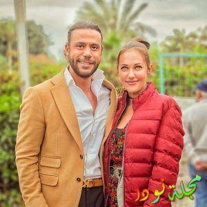 مريم أوزرلي و محمد امام بطلي الفيلم المصري لص بغداد
