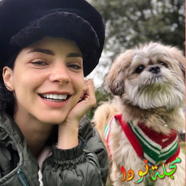 ميرفي بولغور وكلبها