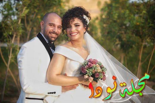 نسمة محجوب وزوجها المحلل المالي شادي الحلواني