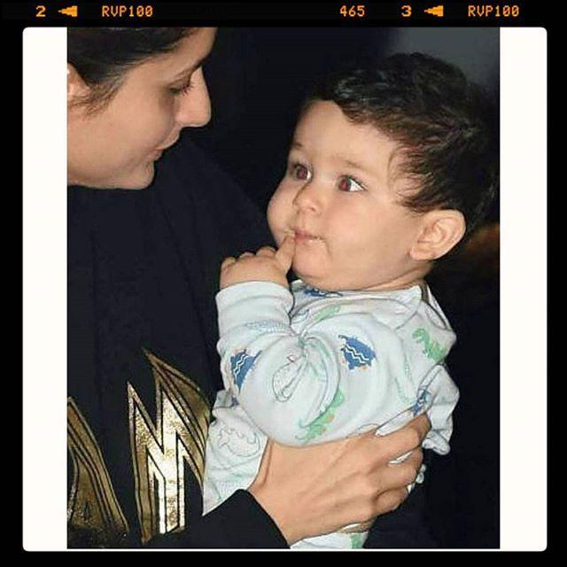 ابنها الصغير تيمور علي خان