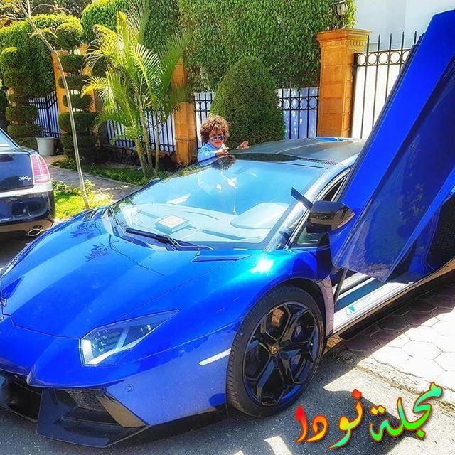 السيارة الزرقاء رقم ثلاثة
