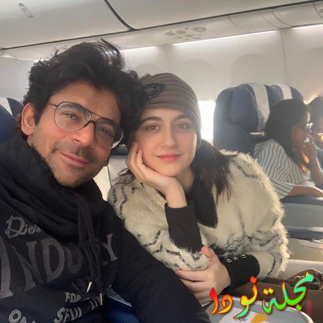 سانجيدا شيخ وزوجها عامر علي