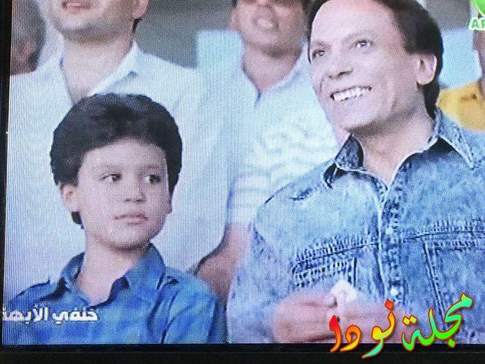 صورة لمحمد إمام في أول فيلم ظهر فيه