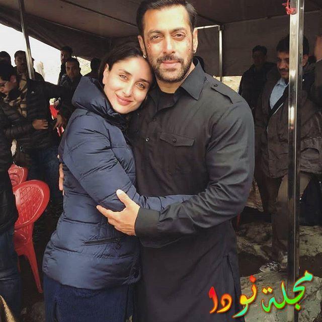 علاقة صداقة قوية بينها وبين سلمان خان