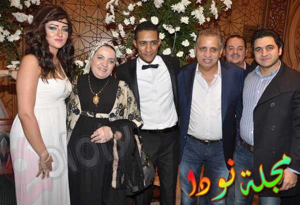 نجوم في فرح محمد رمضان