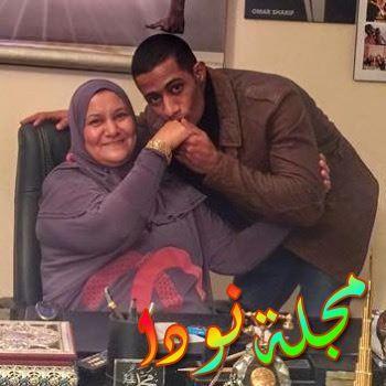 والدته