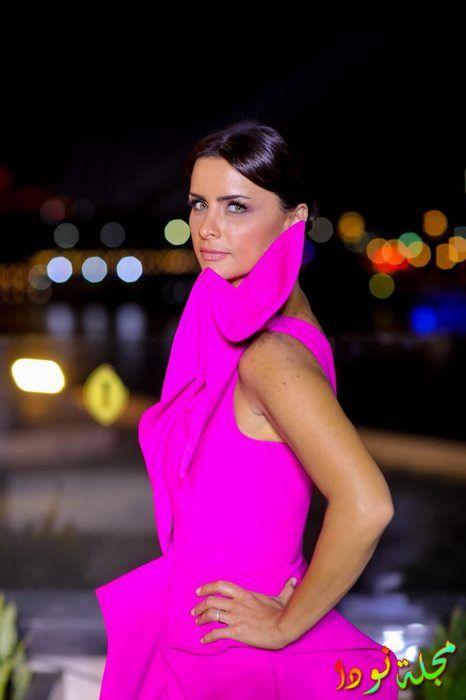الممثلة اللبنانية نور