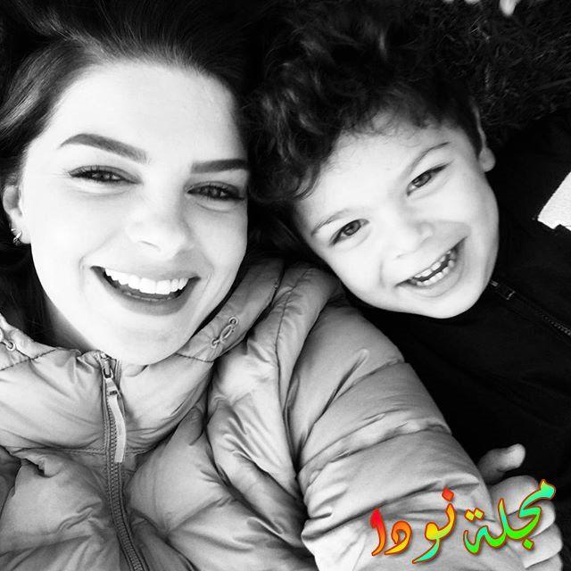 بلين كاراهان وإبنها
