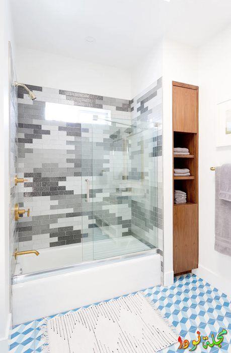حوائط حمامات رائعة