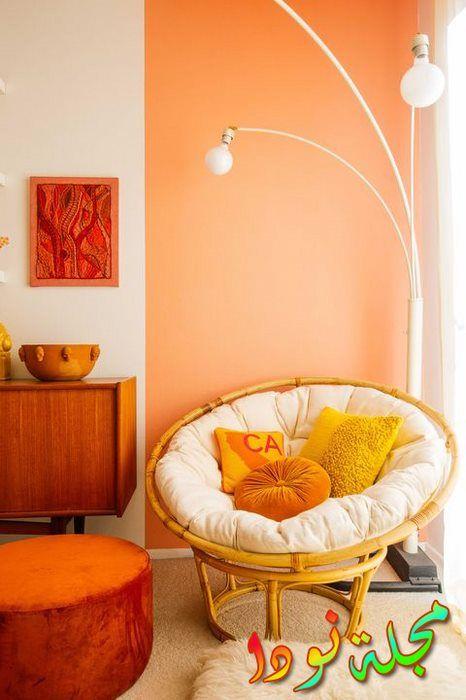 خلفية برتقالية رائعة
