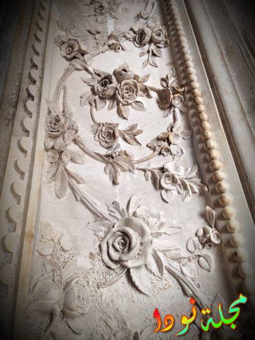 صورة حية من ديكور جدران جبسية