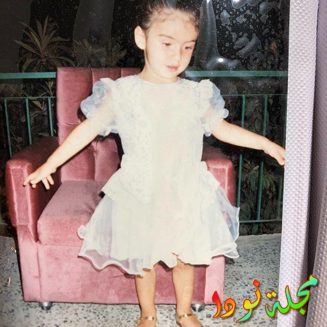 هازار إيرجوتشلو وهي طفلة