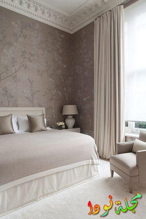 ورق حائط كلاسيكي لغرف النوم
