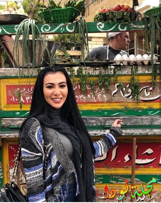 الفنانة المصرية ميرهان