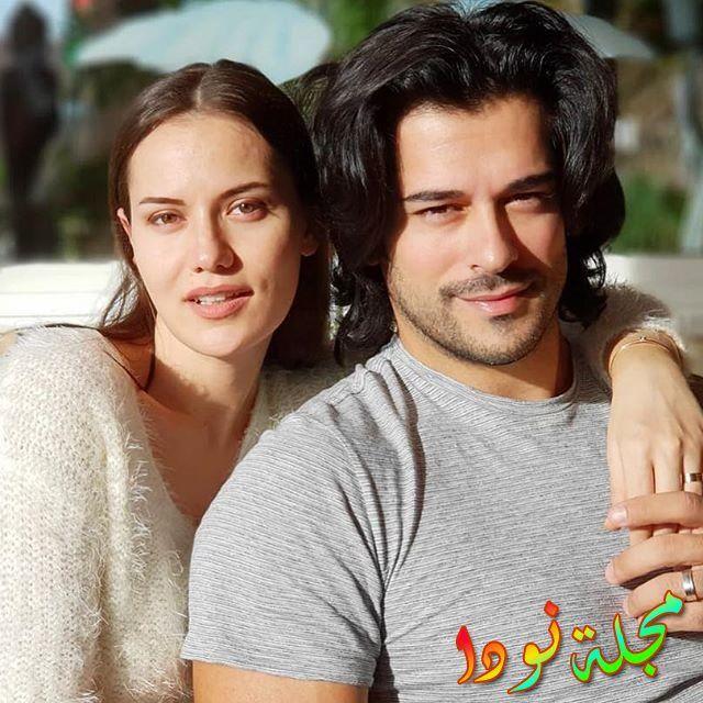 فهرية افجان وزوجها بوراك