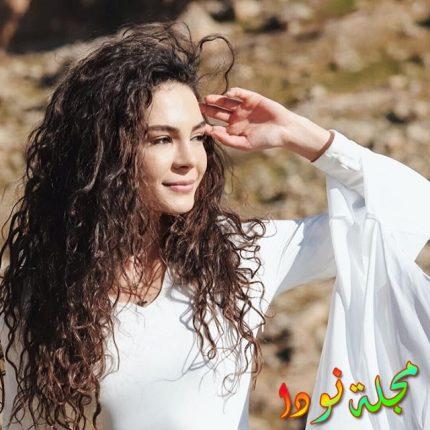 ايبرو شاهين من مسلسلها الجديد زهرة الثالوث