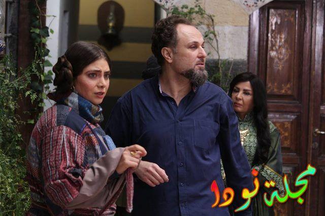 من أبطال المسلسل السوري