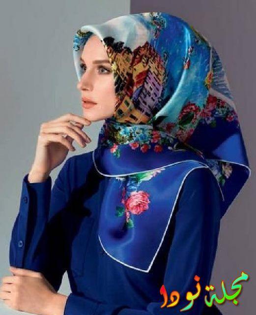 البساطة في ربطة حجاب