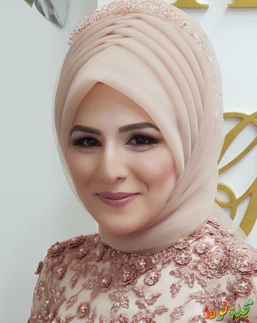 الجمال في ربطة حجاب