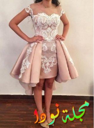 الجمال في فستان