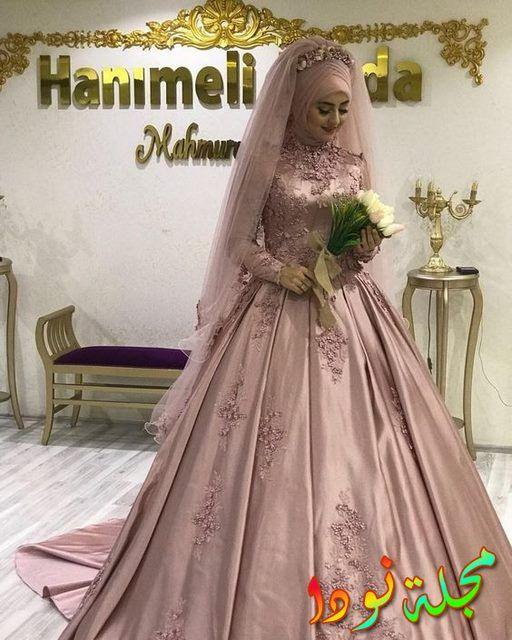 101f625cc ... فساتين خطوبة للمحجبات – طرحة العروس المحجبة. الكشمير الجديد المتوسط