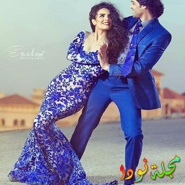 صورة ياسمين الجيلاني وزوجها عمر خورشيد