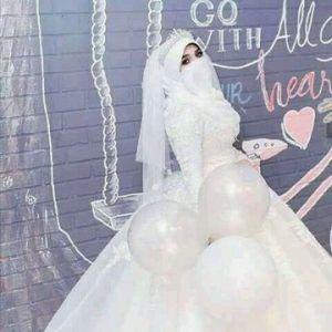 فساتين زفاف للمنتقبات وخطوبة