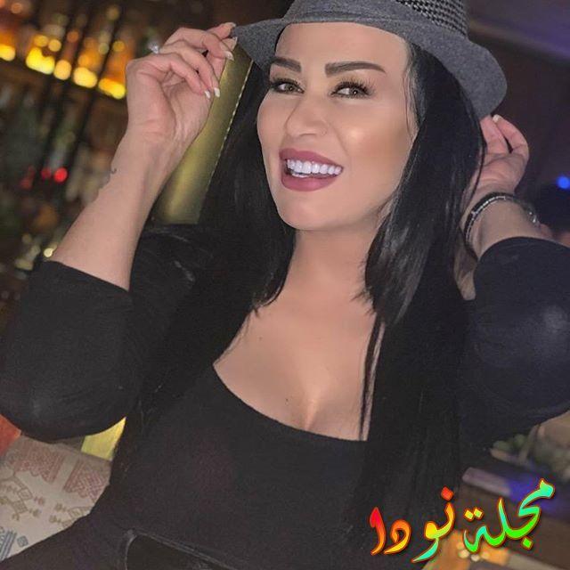 الفنانة الجميلة نادين الراسي