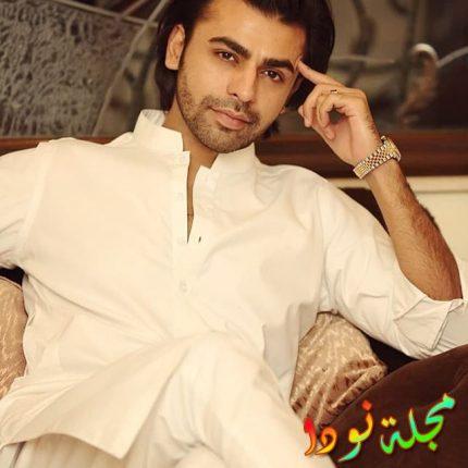 الممثل الباكستاني فرحان سعيد خاني