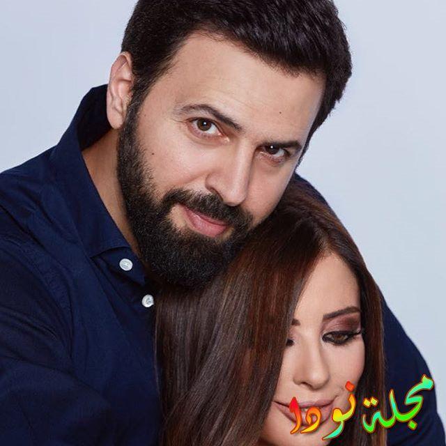 تيم حسن وزوجته وفاء الكيلاني