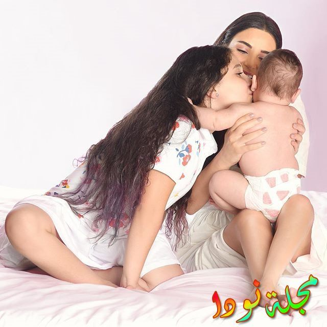 سيرين عبد النور وأولادها