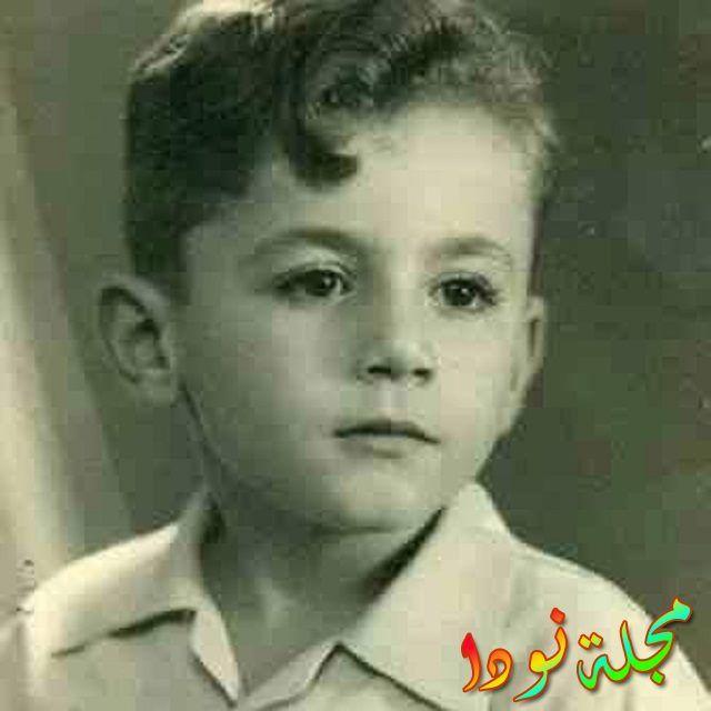 صورة جميلة عزت أبو عوف وهو صغير
