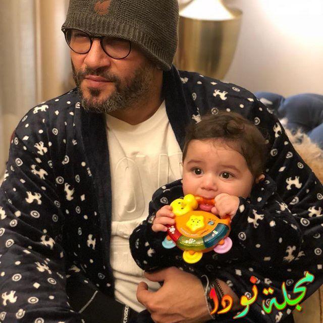 صورة جميلة لزياد برجي مع ابنته