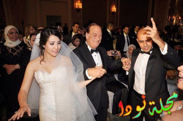صورة من حفل زفاف ابنة حسن حسني