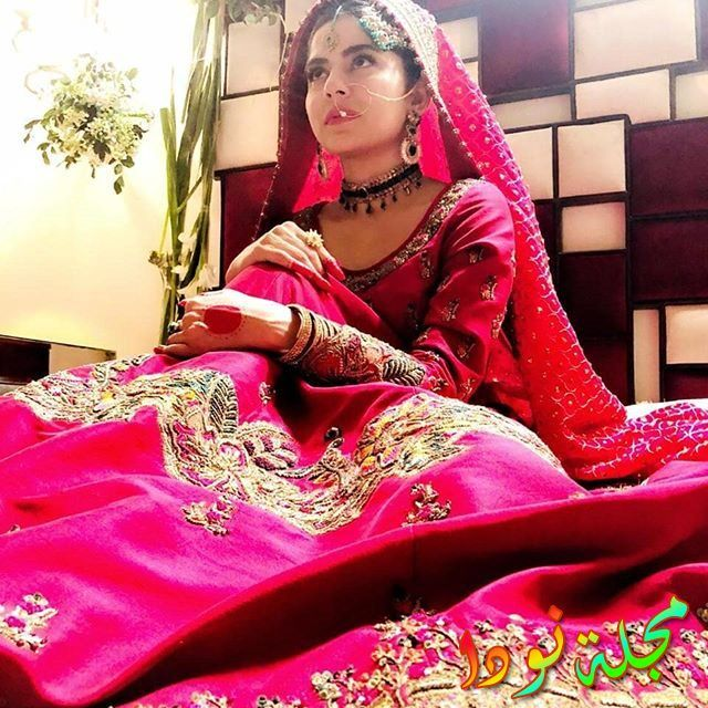 الممثلة الباكستانية سانام بلوج