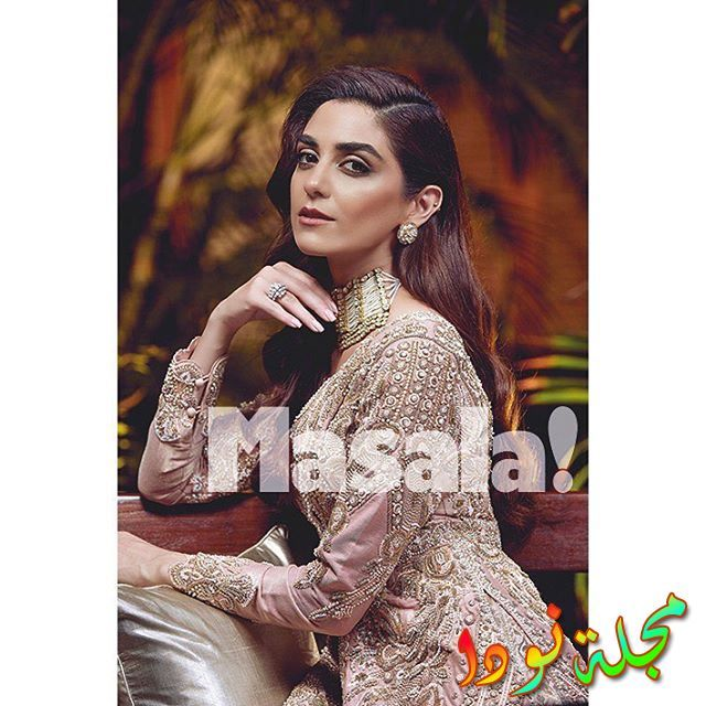 الممثلة الباكستانية مايا علي