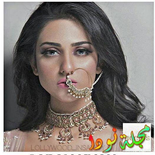 سارة خان الممثلة الباكستانية الجميلة